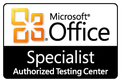 Microsoft Office Specialist Authorized Testing Center Logo